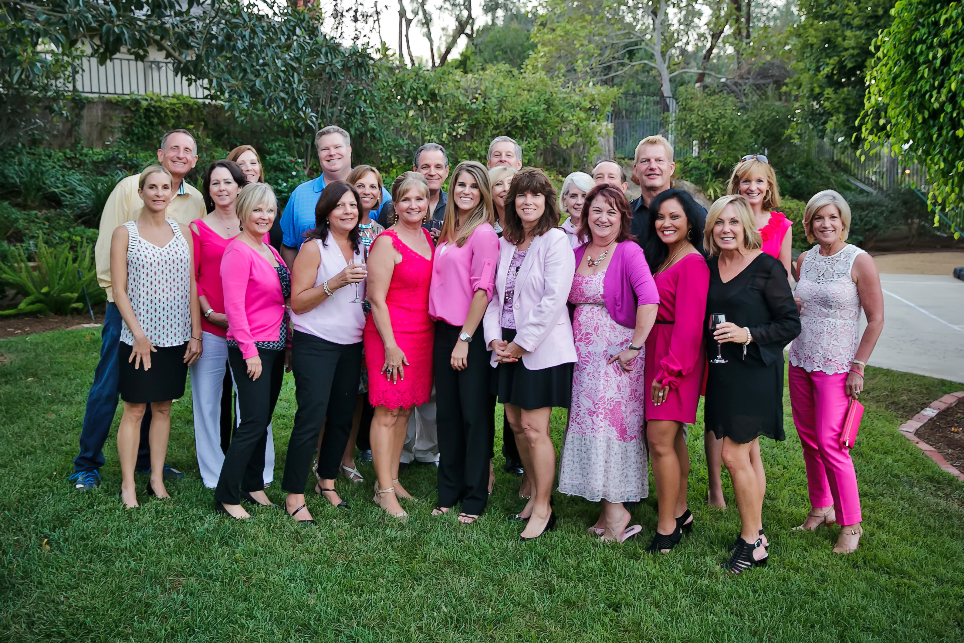 Annual Wear Pink Cocktail Party @ Holnagel's